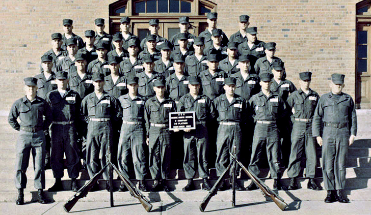 Members Of The Usmc 38th Occ Bc 3 66 Ocs Platoon Gallery